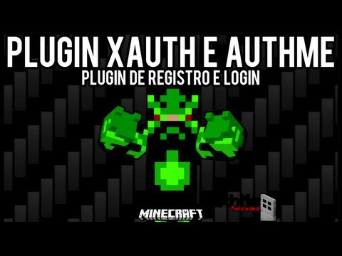 [Tutorial]xAuth e AuthMe - Registro e Login Minecraft =]