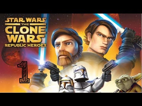 Star Wars - Clone Wars - Republic Heroes - Walkthrough Part 1 PS3