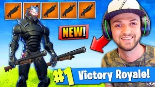 *NEW* SHOTGUNS ONLY MODE in Fortnite: Battle Royale!