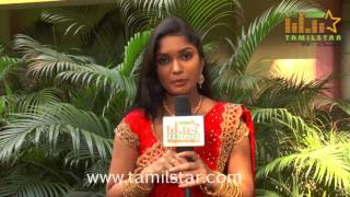 Sri Priyanka At Koodai Mazhai Movie Team Interview
