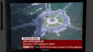 BREAKING NEWS: UFO OVER BERLIN  LIVE ***LEAKED VIDEO***