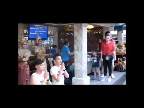 Erawan Shrine – Center of Town – Bangkok Thailand