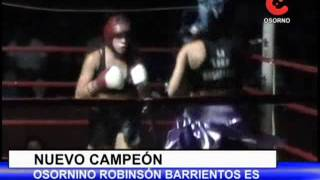 Osornino ganador del Pick Boxing