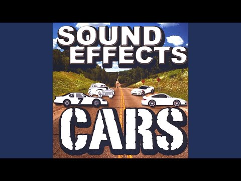 Sports car Starting, Idol engine, revving, pull off 4 sound effects