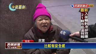 北市遊民進避寒所人次 僅次2016霸王級寒流-民視新聞