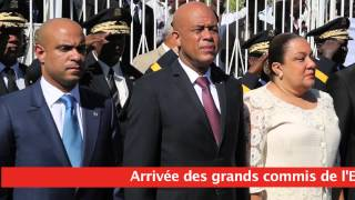VIDEO: Ceremonie 210eme Independence Haiti, Gonaives, 1 Jan 2014