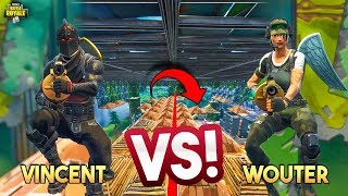 ZEESLAG MINIGAME VS WOUTER!! - Fortnite Playground (Nederlands)