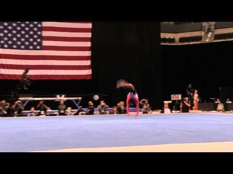 Simone Biles – Floor Exercise – 2015 P&G Championships – Sr. Women Day 1