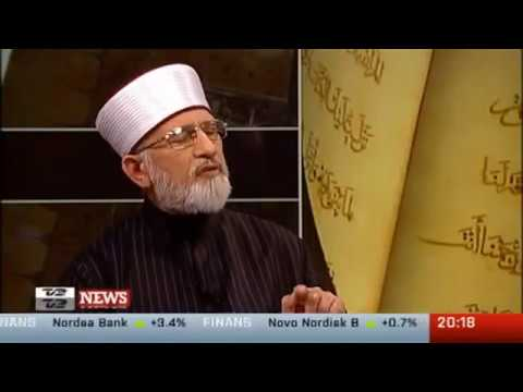 Dr. Tahir-ul-qadri Interview On Tv2 News - Tackling Radicalism Tour 2012 Denmark video