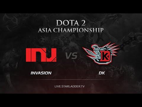 Invasion -vs- DK, DAC 2015 Asia Qualifiers, game 1
