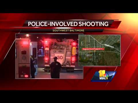 Police shoot man after traffic stop in SW Baltimore