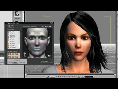 iClone5 Tutorial – Intro to Facial Animation