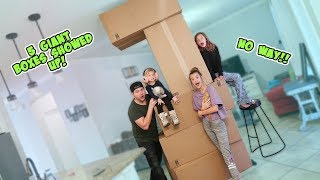 WHATS INSIDE OF THESE BOXES?! **AWESOME SURPRISE** / SmellyBellyTV