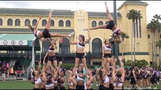 Cheer Extreme Raleigh SSX Worlds Practice 2013