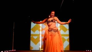 Alia Mohamed - Vintage Style Belly Dance - Bolero ala Drums
