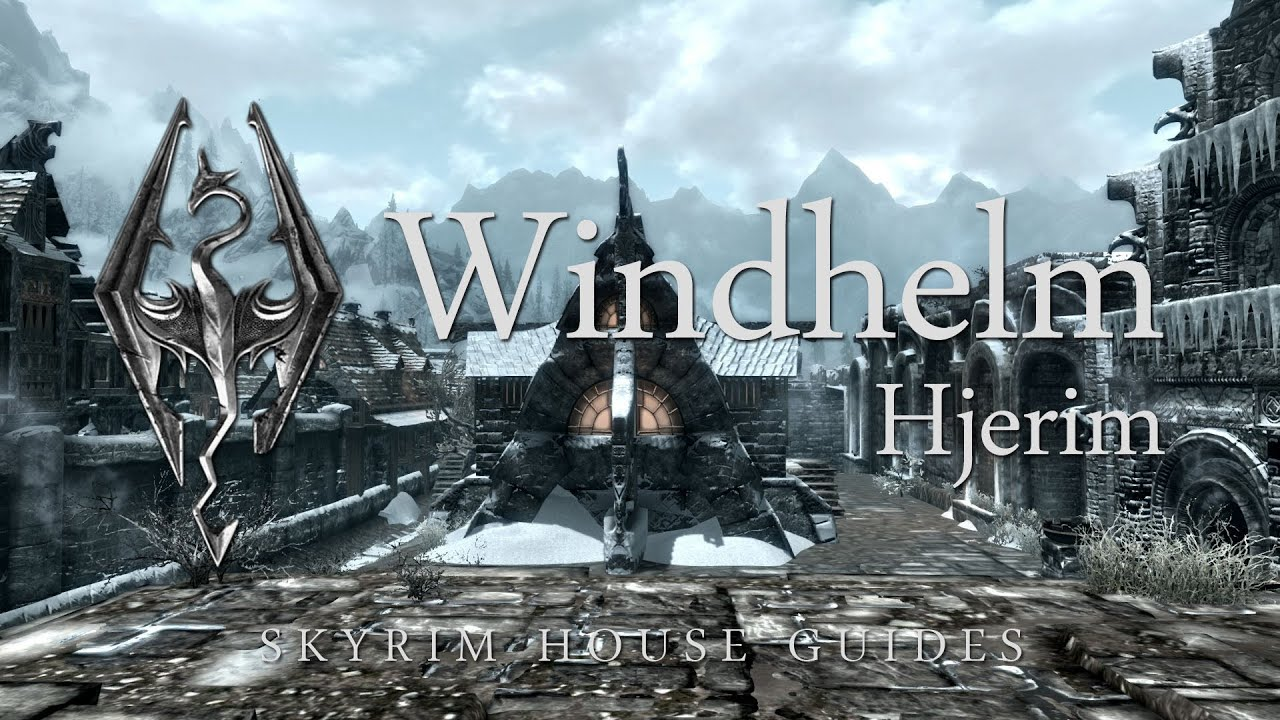 Skyrim Buy A House In Windhelm Youtube
