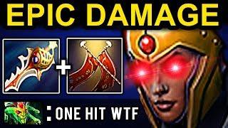 EPIC DAMAGE LEGION COMMANDER DOTA 2 PATCH 7.07 NEW META PRO GAMEPLAY