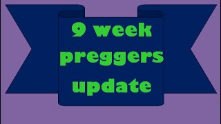 9 weeks pregnant! :) | 1st Trimester IVF Pregnancy Update