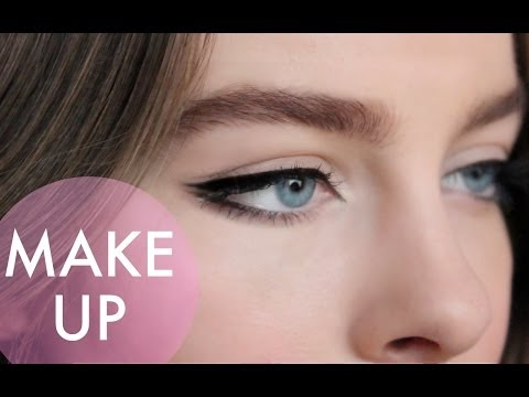Как рисовать стрелки + советы и хитрости / Eyeliner tutorial + tips & tricks   Beauty Blanc