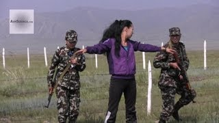 Nepalese Army Soldiers Conducting Vehicle Checkpoint in Exercise Khaan Quest 2013