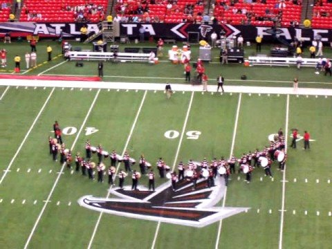 Atlanta Falcons Drum Corps Video