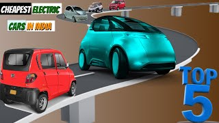 Top 5 Cheapest Electric Cars to Launch in India 2019| 2020