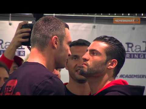 Heavyweight Champion Manuel Omeirat Charr vs. Vitali Klitschko