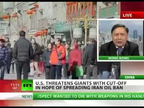 US threatens to Sanction CHINA for failing to CUT OIL IMPORTS from IRAN!