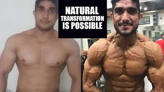 Natural transformer the musclemania winner