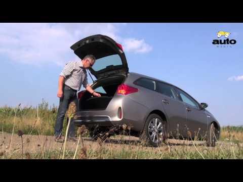 Toyota Auris Touring Sports Hybrid test 2013