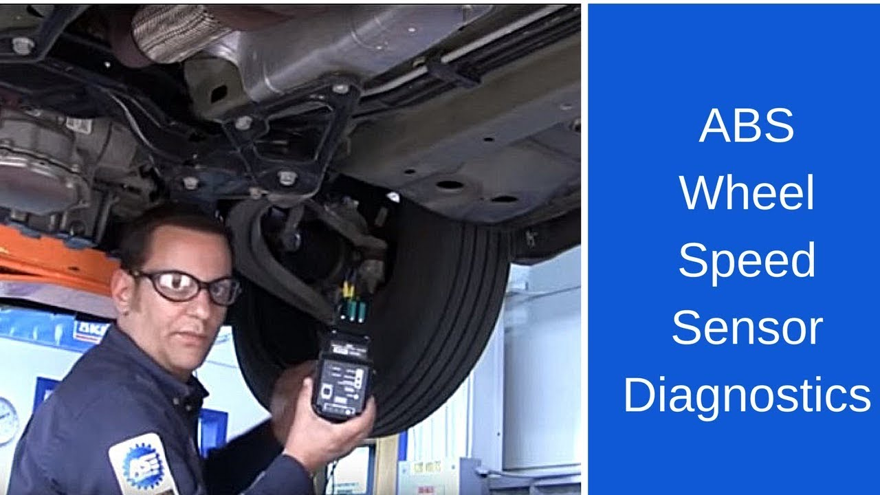 ABS wheel speed sensor diagnostics YouTube