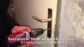 Tutoriel : Ouverture de porte avec extracteur de cylindre de serrure