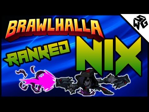 Diamond Ranked Nix 1v1's - Brawlhalla Gameplay :: Practicing for Tournament!