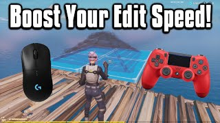 How To Edit Faster In Fortnite! - PC, Console & Mobile Tips!