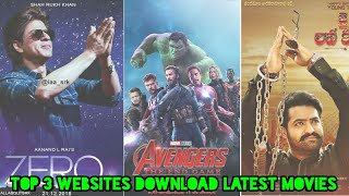 Top 3 New Websites To Download HD Movies For Free | Watch Latest Hollywood, Bollywood Movies