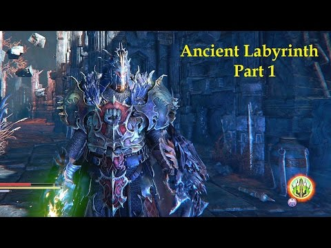 Ancient Labyrinth Part 1 Lords of the Fallen walkthrough trophy achievements Difficulty NG+