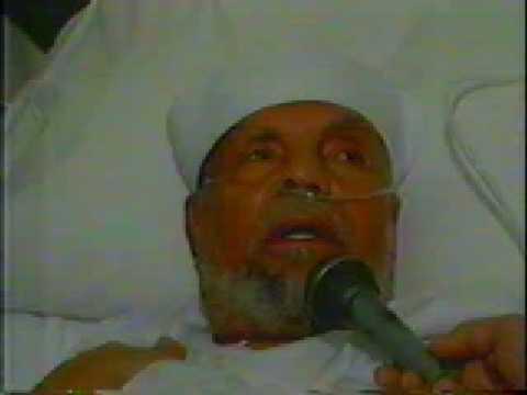 اخر كلمة قالها الشيخ الشعراوي رحمه الله على فراش الموت