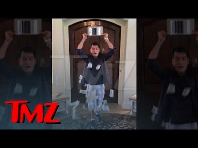 Charlie Sheen -- Ice Bucket Challenge with a BIG Twist