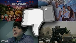 Top 5 Most Disliked Videos on YouTube