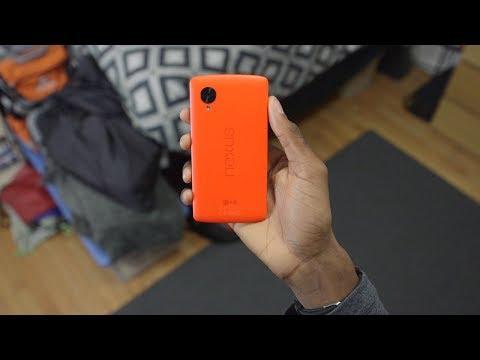 Bright Red Google Nexus 5!