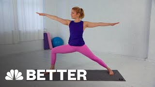 How To Do The Warrior II Pose In Yoga | Better | NBC News