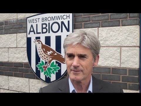 Alan Irvine gives his first video interview as Head Coach of West Bromwich Albion