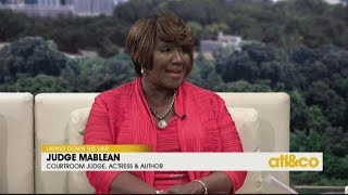 Judge Mablean talks about her career and non-profit