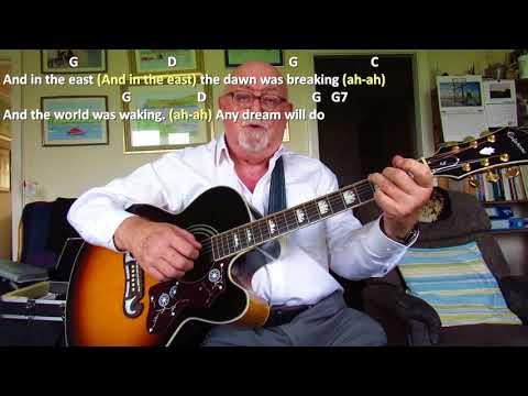 Guitar: Any Dream Will Do (Including lyrics and chords)