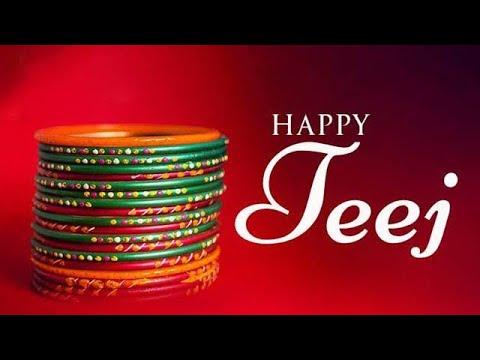 Teej Special whatsapp status 2018 Rangeelo Sawan Aayo |ViratWorld|