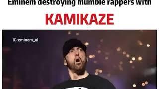 Eminem kamikaze Diss the all mumble rappers