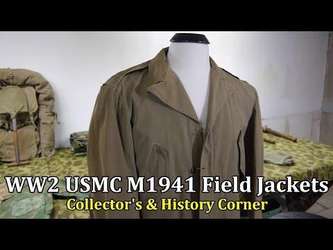 World War 2: USMC M1941 Field Jackets   Collector's & History Corner