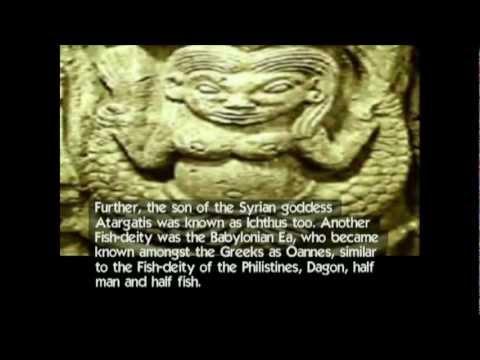 Rosery Fish Swastika Ank And Tau Cross: Christianity Sex Lies Paganism (yt Vio Reup) video