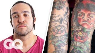 Pete Wentz Breaks Down His Tattoos | GQ