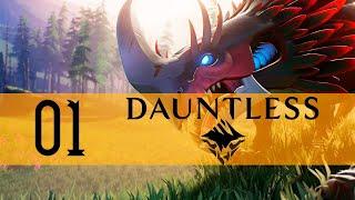 Dauntless Gameplay Walkthrough PC Part 1 (TIME TO HUNT!)